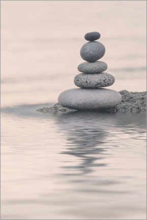 Premiumposter  Tranquil Balance - Andrea Haase Foto