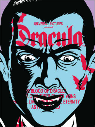 Premiumposter  Dracula - Collage I