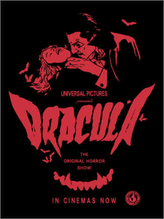 Aluminiumtavla  Dracula - The Original Horror Show