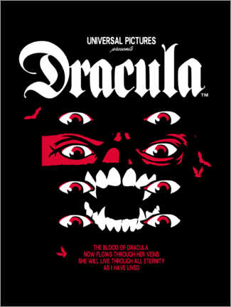 Premiumposter  Dracula - Collage II