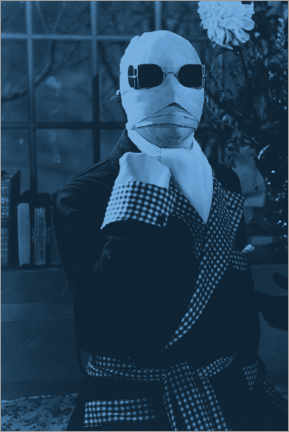 PVC-tavla  The Invisible Man (1933)