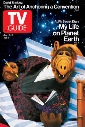 Canvastavla  ALF - My Life on Planet Earth - TV Guide