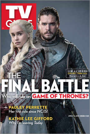 Självhäftande poster  Game of Thrones - The final battle - TV Guide