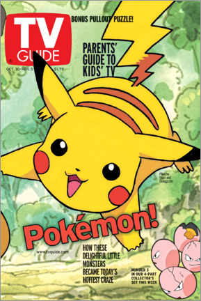 Premiumposter  Pokémon - Pikachu - TV Guide