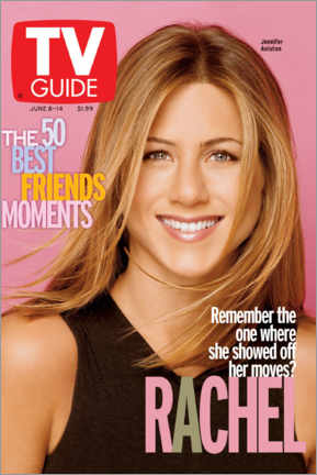 Canvastavla  Rachel - Friends - TV Guide