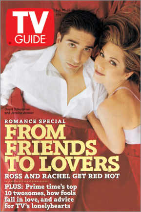 Galleritryck  Ross and Rachel - Friends to lovers - TV Guide