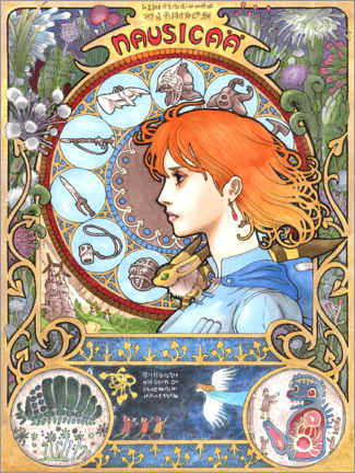 Premiumposter  Nausicaä of the Valley of the Wind