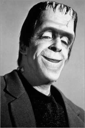 Premiumposter The Munsters, Fred Gwynne