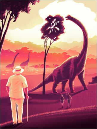 Premiumposter  Welcome to Jurassic Park