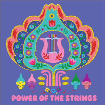 Premiumposter  The power of the strings
