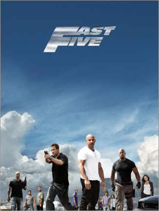 Canvastavla  Fast Five