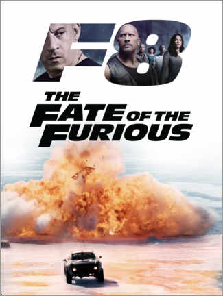 Aluminiumtavla  The fate of the furious