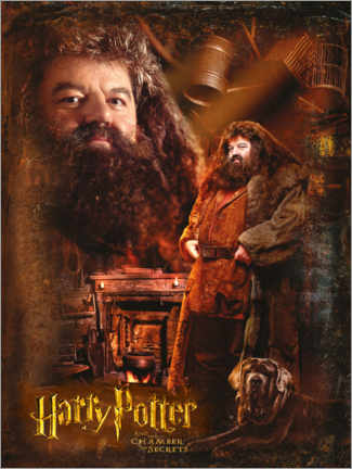 Premiumposter Rubeus Hagrid and the Chamber of Secrets