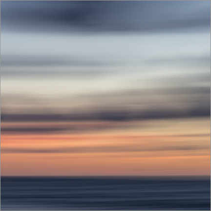 Premiumposter Play of colors by the sea I