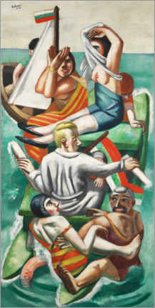 Premiumposter  The boat - Max Beckmann