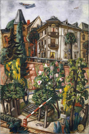 Premiumposter  The Nice in Frankfurt - Max Beckmann