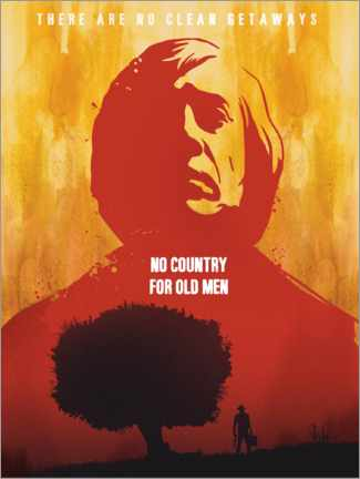 Premiumposter No Country for Old Men