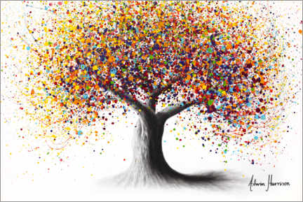 Galleritryck  Rainbow Soul Tree - Ashvin Harrison