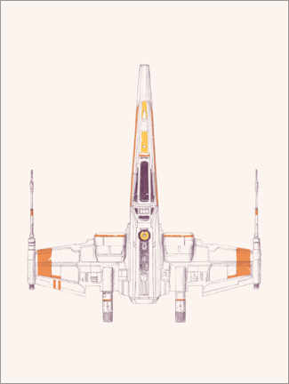 Premiumposter  Spaceship - Florent Bodart