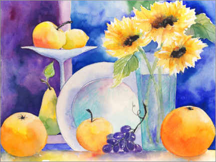 Galleritryck  Fruit still life - Jitka Krause