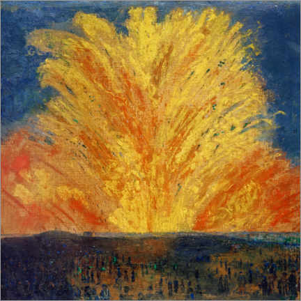 Premiumposter  Fireworks - James Ensor