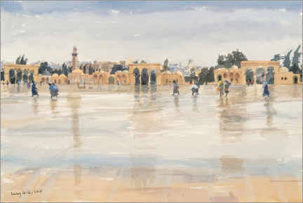 Premiumposter  Wind and Rain on the Temple Mount, Jerusalem - Lucy Willis