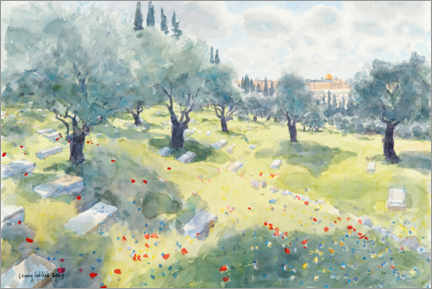 Premiumposter  The olive grove - Lucy Willis