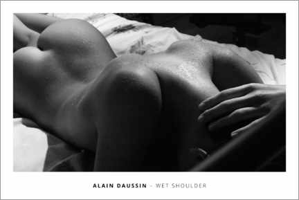 Galleritryck  Wet shoulder - Alain Daussin