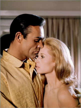 Premiumposter  Sean Connery and Tippi Hedren, Marnie, 1964