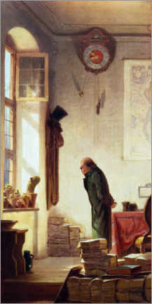 Premiumposter  The Cactus Lover - Carl Spitzweg