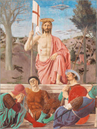 Canvastavla  Resurrection of Christ - Piero della Francesca