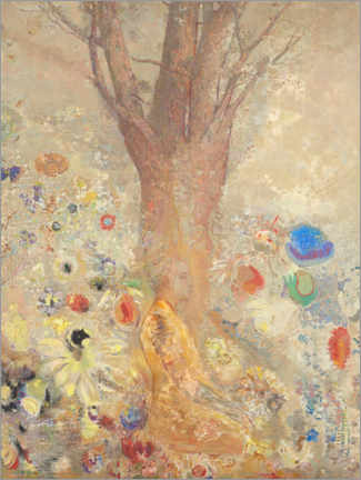 Premiumposter  The Buddha - Odilon Redon