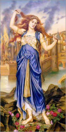 Premiumposter  Cassandra - Evelyn De Morgan