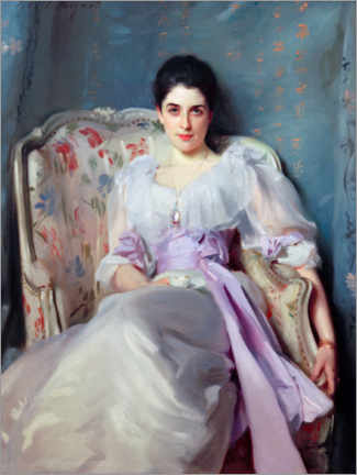 Premiumposter  Lady Agnew of Lochnaw - John Singer Sargent