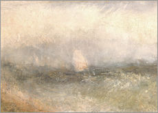 Galleritryck  Off the Nore: Wind and Water - Joseph Mallord William Turner