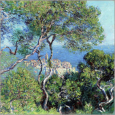 Aluminiumtavla  Bordighera - Claude Monet