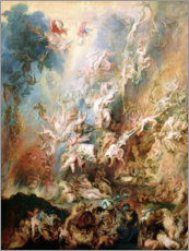 Canvastavla  The Fall of the Damned - Peter Paul Rubens