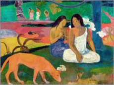 Akrylglastavla  Arearea - Paul Gauguin