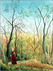 Galleritryck  The Walk in the Forest - Henri Rousseau