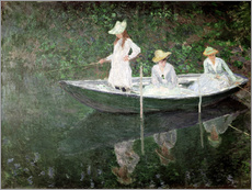 Galleritryck  The Boat at Giverny - Claude Monet