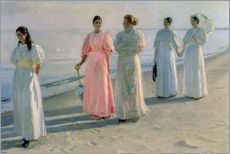 Galleritryck  Ladies on the beach - Michael Peter Ancher
