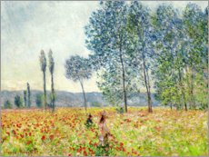 Självhäftande poster  Under the Poplars - Claude Monet