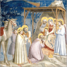Canvastavla  Adoration of the Magi - Giotto di Bondone
