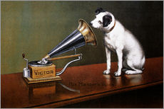 Galleritryck  His Master's Voice - François Barraud