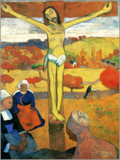 Canvastavla  The Yellow Christ - Paul Gauguin