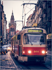 Galleritryck  Tramway in Prague - Alexander Voss
