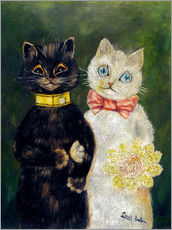 Galleritryck  Cats Wedding - Louis Wain