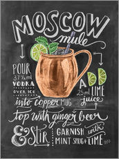 Galleritryck  Moscow Mule - Lily & Val