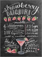 Galleritryck  Strawberry Daiquiri recept - Lily & Val