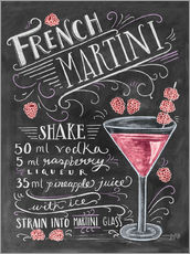 Galleritryck  French Martini recept - Lily & Val